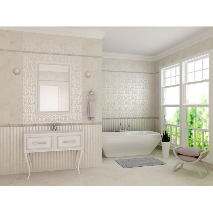 Декор GRACIA CERAMICA Antico beige decor 02 25х75см