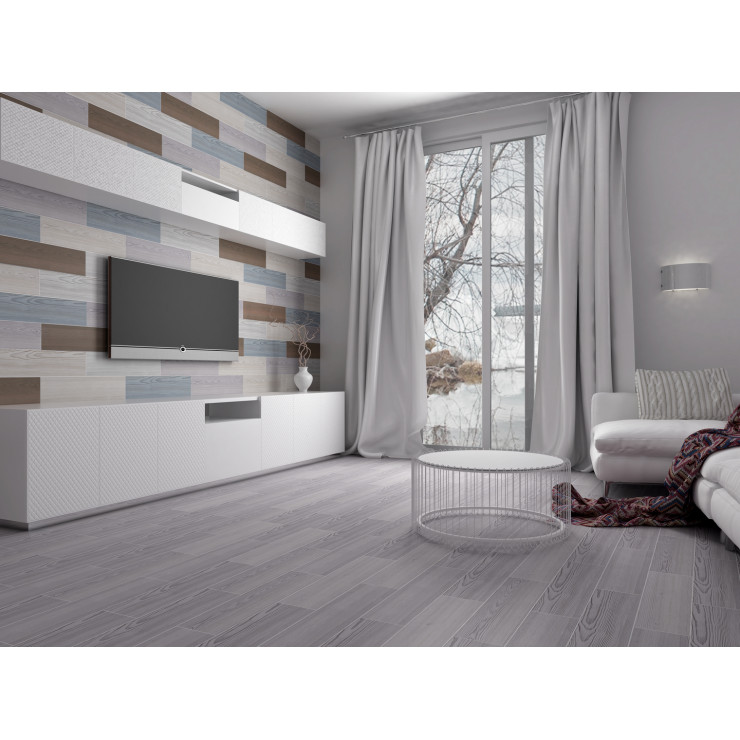 Керамогранит GRACIA CERAMICA Corso grey light 01 15х60см 8шт