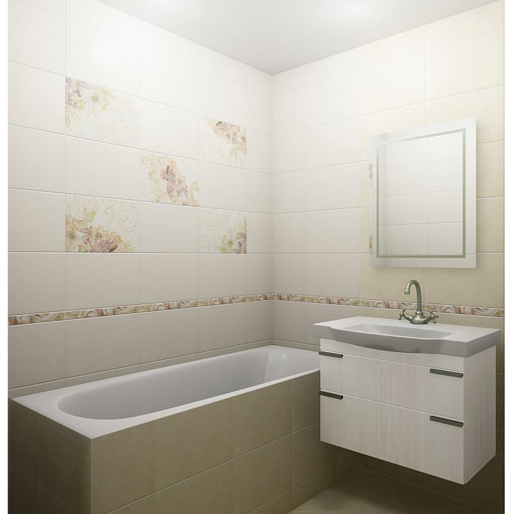 Декор GLOBAL TILE Adele 9AL0201M 27х40см