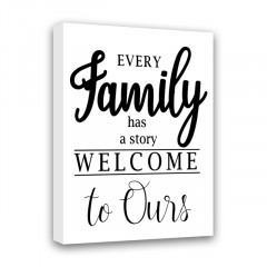 Картина СИМФОНИЯ Every family has a story. Welcome to ours