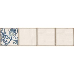 Декор ELETTO Faenza Cobalt Ornament 2 15,6х63см