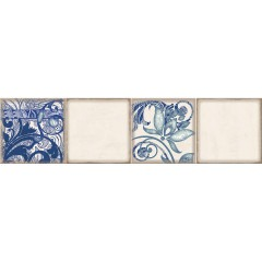 Декор ELETTO Faenza Cobalt Ornament 3 15,6х63см