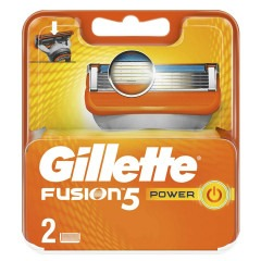 Кассеты GILLETTE Fusion 5 Power 2шт