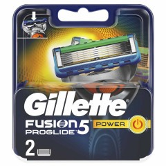 Кассеты GILLETTE Fusion 5 ProGlide Power 2шт