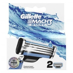 Кассеты GILLETTE Mach3 Start 2шт