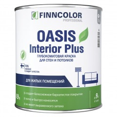 Краска FINNCOLOR Oasis Interior Plus 0,9л