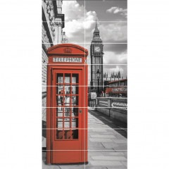 Панно АТЕМ Telephone Box 119х236см