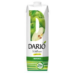 Сок DARIO Wellness Яблочный 1л