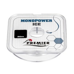 Леска PREMIER FISHING Monopower Ice 0,1мм 30м