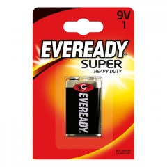 Батарейки ENERGIZER Eveready Super Heavy Duty 9V