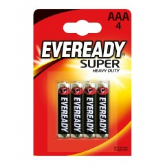 Батарейки ENERGIZER Eveready Super Heavy Duty AAA