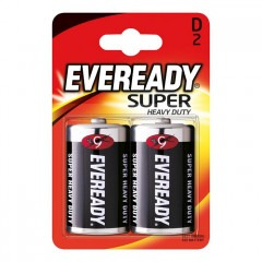 Батарейки ENERGIZER Eveready Super Heavy Duty D