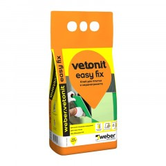 Клей WEBER VETONIT Easy fix 5кг