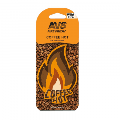 Ароматизатор AVS Fire Fresh Coffee Hot WDM-002