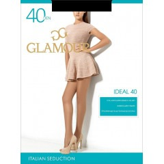 Колготки GLAMOUR Ideal 40 nero 5