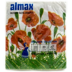 Салфетки ALMAX Exclusive 20шт