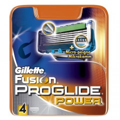 Кассеты GILLETTE Fusion ProGlide Power 4шт