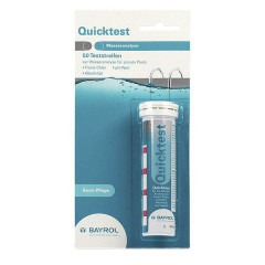Тестовые полоски BAYROL Quicktest для измерения Ph, Cl, Alkalinity