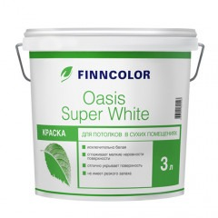 Краска FINNCOLOR Oasis Super White 3л
