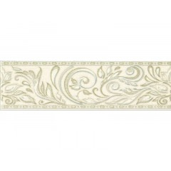 Бордюр GLOBAL TILE Adele B24AW0701M 7,7х27см