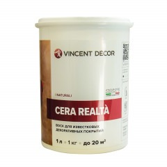 Воск VINCENT DECOR Cera Realta 1л